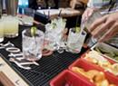 Bartenders Scramble at Lakeside Spot on the Dock