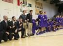 Saint Michael's Basketball Players Take a Knee Before UVM Game