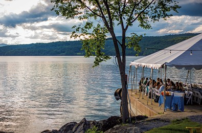 Three Great Vermont Spots to Dine by the Water