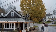 Breakfast, Lunch and Dinner in Stowe Village