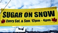 Sugar-on-Snow Party