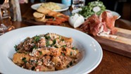 Every Night Is Pasta Night at Mama's Hand Made Italian in Ludlow