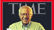 Bernie Bits: Sanders Makes the Cover of <i>Time</i> Magazine