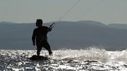 Kiteboarding on Lake Champlain [SIV415]