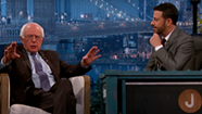 Bernie Bits: Sanders Talks Pot, God and Electability on <i>Jimmy Kimmel</i>