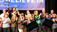 In New Hampshire, Sanders Defends His Electability