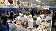 Competitive Kids at Jr Iron Chef VT