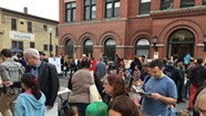 The Center for Cartoon Studies' Block Party Draws a Crowd