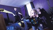 DIY: Batcave Bedroom