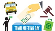 Town Meeting Day Potluck — From Silly to Serious
