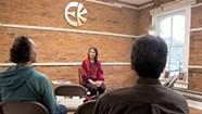 Eckankar Followers Chant 'Hu' in Burlington