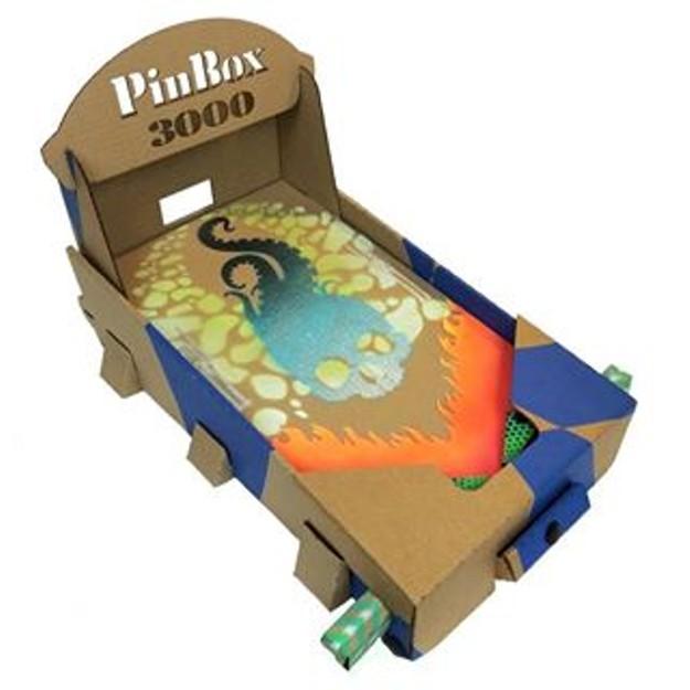 A Cardboard Pinball Machine Makes Its Entrance At Tilt