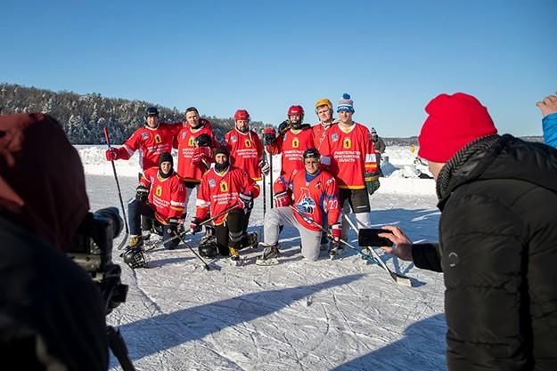 The Lake Champlain Pond Hockey Classic