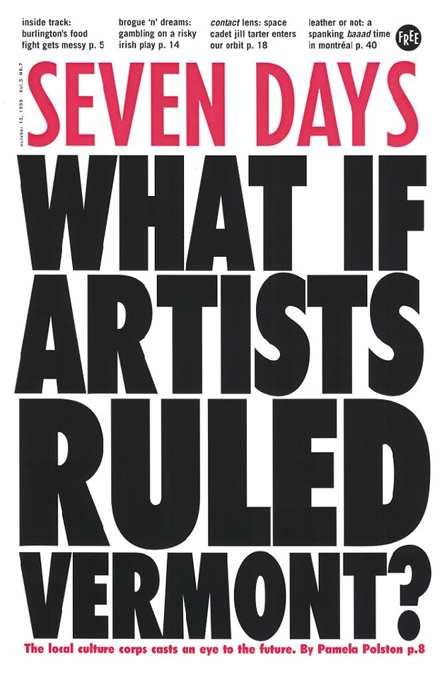 """Seven Days """"Covers"""" the Arts 1995-2020"""