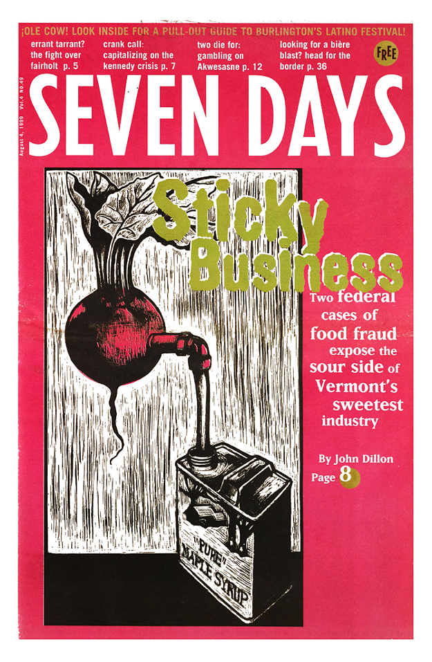 """Seven Days """"Covers"""" Food and Drink 1995-2020"""