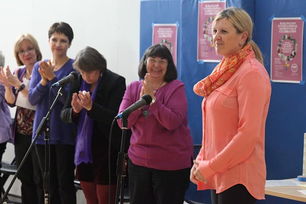 International Women's Day Celebration in Burlington