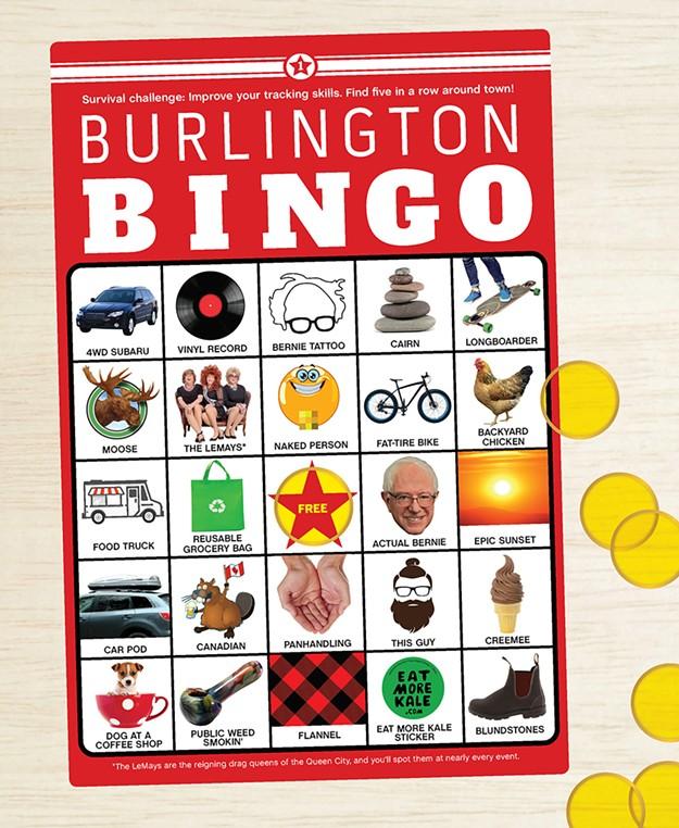 Challenge Yourself to a Game of Burlington Bingo  72a7a0ec9