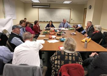 Vermont Senate Democrats Strategize Behind Closed Doors