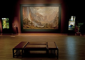 Bierstadt Painting Takes a Vacation in Florida