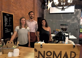 Nomad Coffee Opens a South End Café