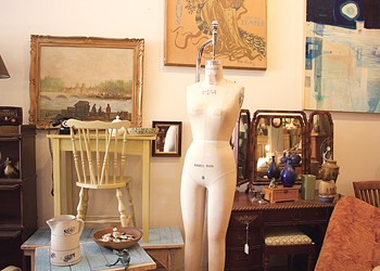 Used, Vintage and Antique: Thrifting in Burlington