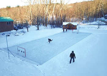 Habitat: Backyard Hockey Rink