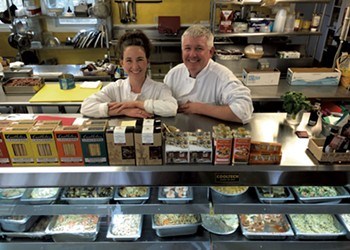 Sampling the Chef-Made Foods to Go at Gilfeather's
