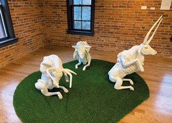 Montpelier's New Garage Cultural Center Opens With Female Sculptors