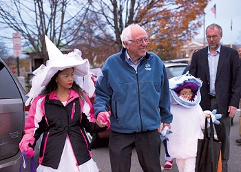 Bernie Sanders Tries Out New Style in N.H.