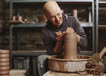 Potter Jeremy Ayers Fends Off Corporate Copycat