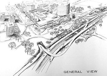 Before Burlington's Proposed Mall Makeover, They Called It 'Urban Renewal'