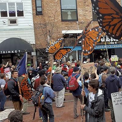 Twelve Months of Protest Art in Vermont