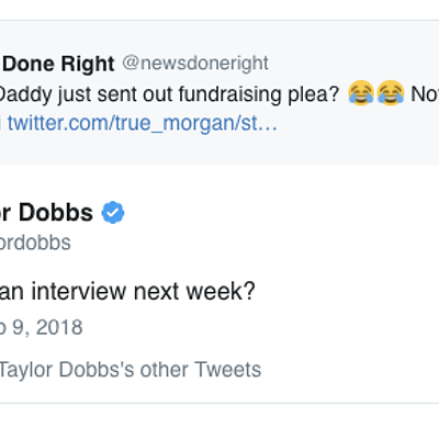 News Done Right Interview Requests Via Twitter