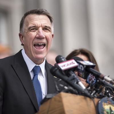 Slideshow: Gov. Phil Scott Signs Three Historic Gun Bills