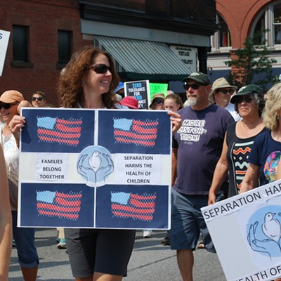 Vermonters Take to the Streets to Protest Immigration Policies