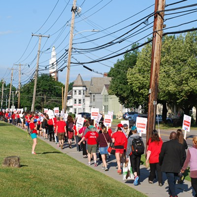 Photos: Nurses Strike at UVM Medical Center