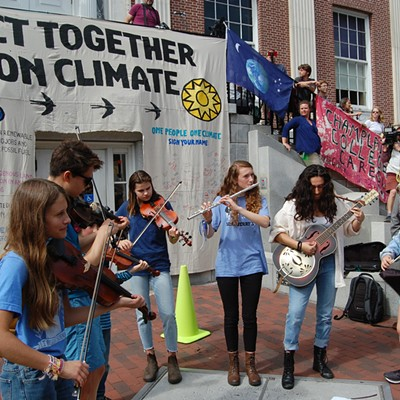 Climate Protests in Vermont