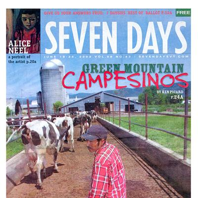 "Seven Days ""Covers"" News 1995-2020"