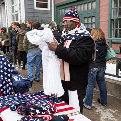 Donald Trump Visits Burlington