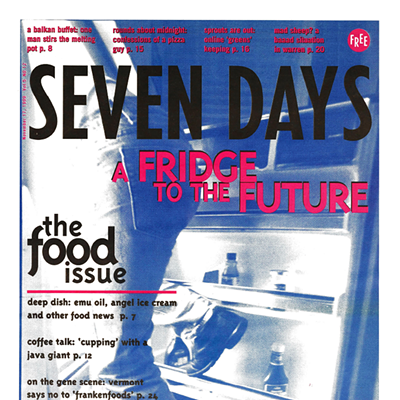 "Seven Days ""Covers"" Food and Drink 1995-2020"