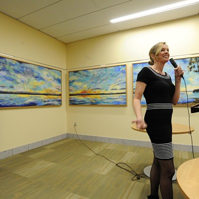 New Art Unveiled for Dedication of Sally Fox Conference Center