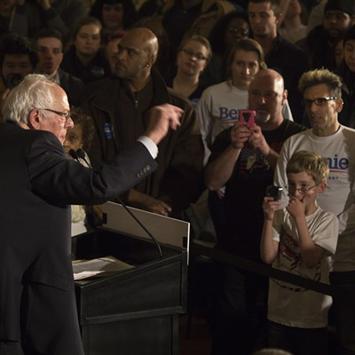 Bernie Sanders on the Iowa Campaign Trail