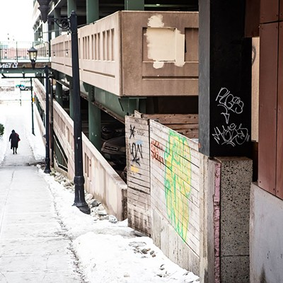 Burlington Grapples With Pandemic-Era Graffiti