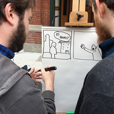 Center for Cartoon Studies' Block Party