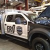 Burlington's emergency response vehicle