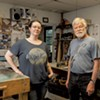 Lawrence Ribbecke and Emily Stoneking Fuse a Business Partnership in Stained Glass