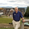 Bill Stenger at Q Burke Mountain Resort
