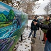 Residents Mark Burlington's Old East End With a Mural