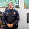 Former Burlington police chief Brandon del Pozo