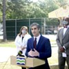 Mayor Miro Weinberger at Roosevelt Park